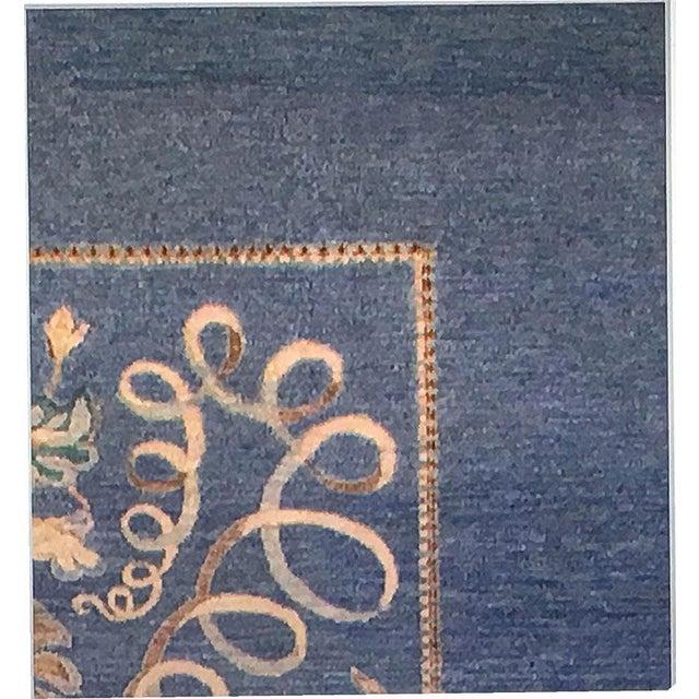 Art Nouveau Style Area Rug - 10' x 14' For Sale - Image 4 of 4