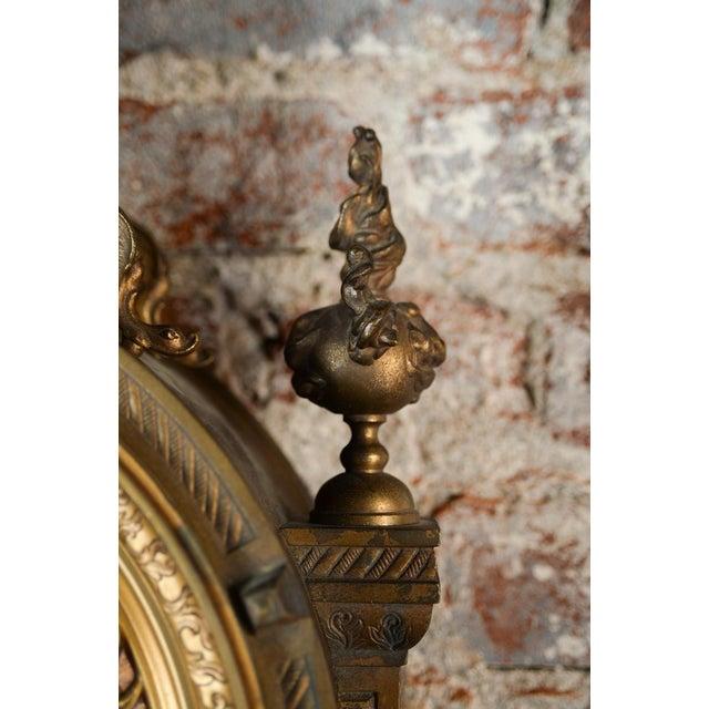 19th Century Creusy Paris Bronze French Clock - Image 7 of 10