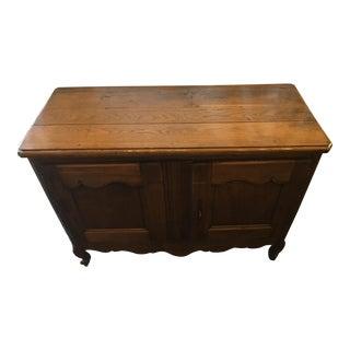 French Early 19th Century Oak Buffet