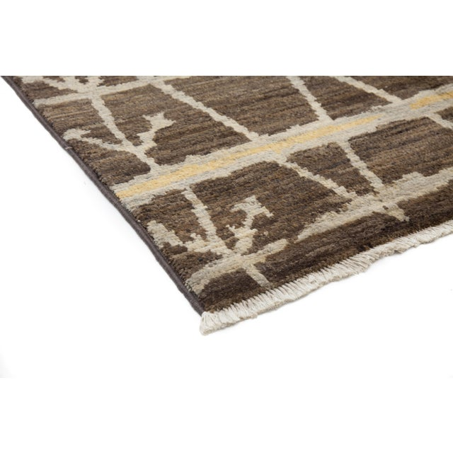 """Moroccan Hand-Knotted Rug - 4' 10"""" X 8' 0"""" - Image 2 of 3"""