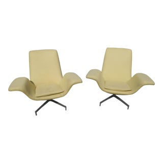 1990s Vintage Dialogue Lounge Chairs by Hbf - a Pair For Sale