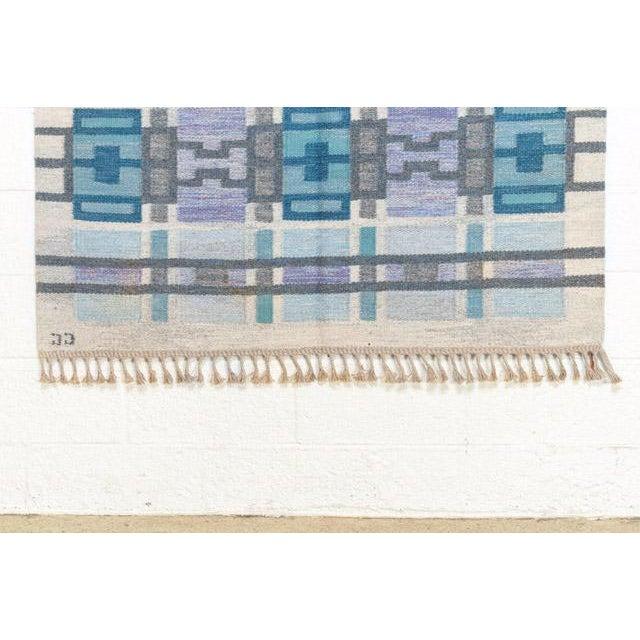 Scandinavian Modern Judith Johansson Tapestry Rug - 4'5'' X 6'8'' For Sale In Detroit - Image 6 of 11