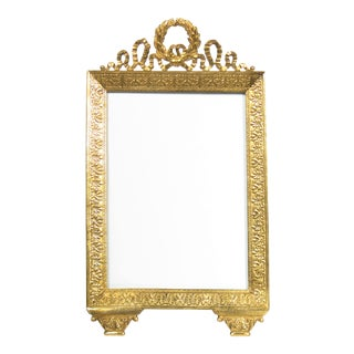 Large French Acanthus Leaf Picture Frame For Sale