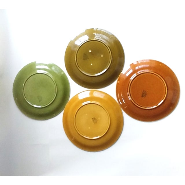 Ceramic Boch Freres Keralux Divided Plates - Set of 4 For Sale - Image 7 of 10