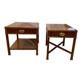 Georgian Gordon's Mahogany Side Tables - a Pair For Sale