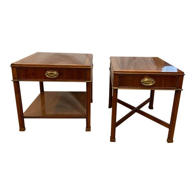 Georgian Gordon's Mahogany Side Tables - a Pair For Sale