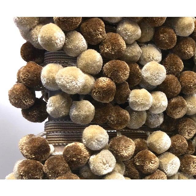 Textile Pompom Tassel Fringe - 6.75 Yards For Sale - Image 7 of 7