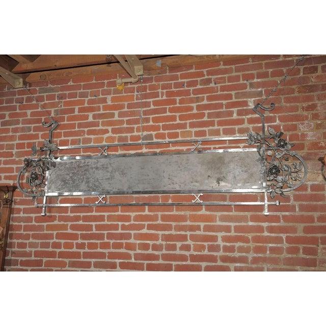 Chromed Iron Hanging Sign - Image 2 of 9