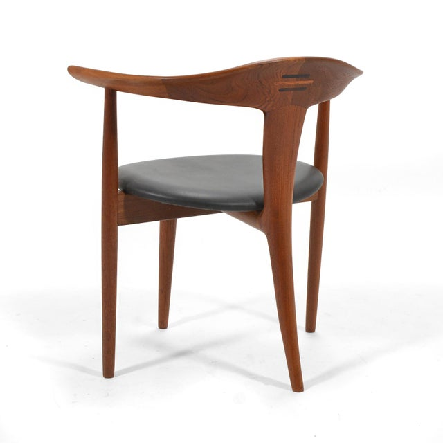 Erik Andersen and Palle Pedersen Pair of Rare Easy Chairs For Sale - Image 9 of 12