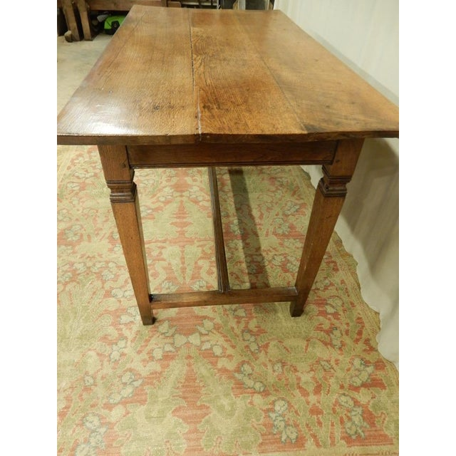 Wood 19th C Provincial Italian Writing Desk For Sale - Image 7 of 9