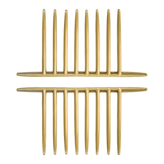 Comb Small (Satin Brass) Preview