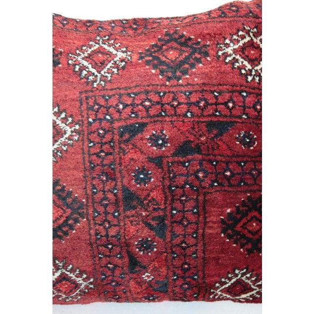 Home Decor Vintage Carpet Pillow For Sale - Image 4 of 9