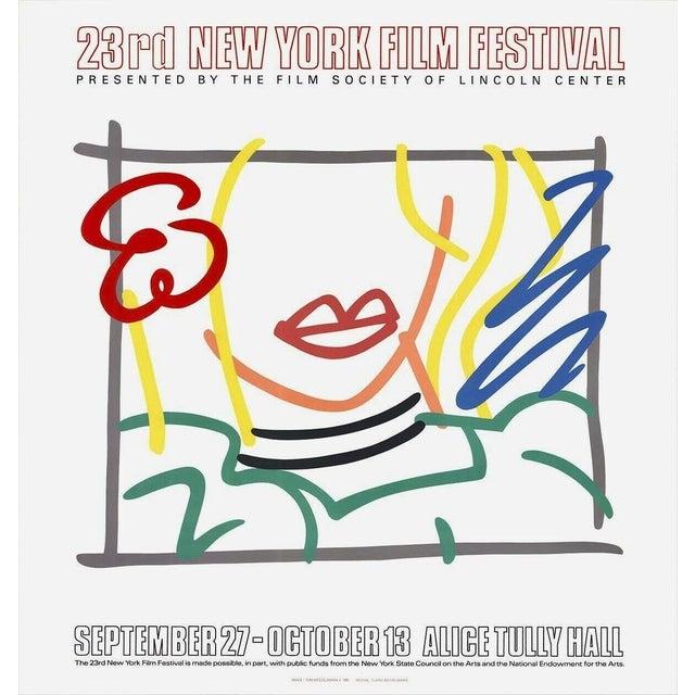 Pop Art Tom Wesselmann Monica, Lincoln Center 23rd New Film Festival 1985 1985 For Sale - Image 3 of 3