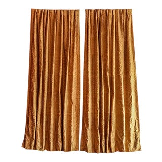 Fortuny Ashanti Draperies - A Pair For Sale