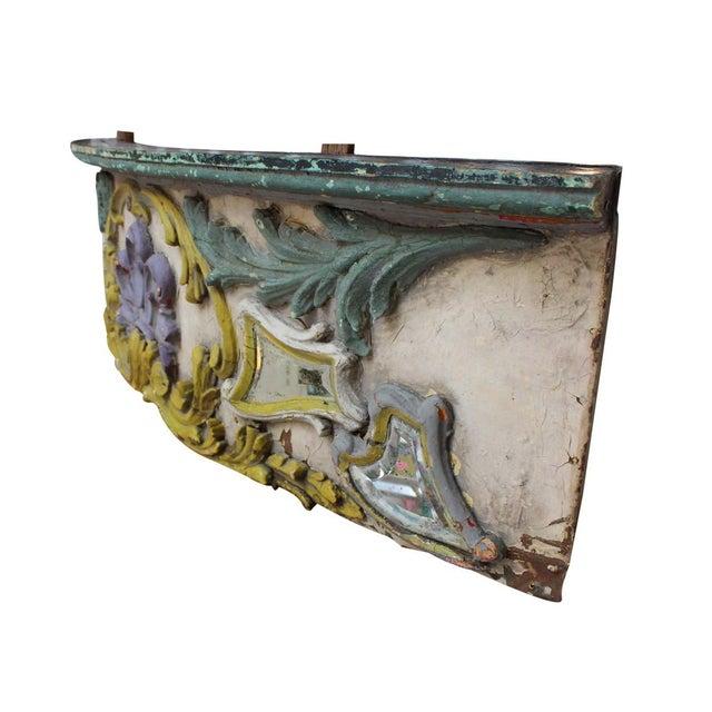 Antique Parisian Carousel Panel For Sale - Image 4 of 4