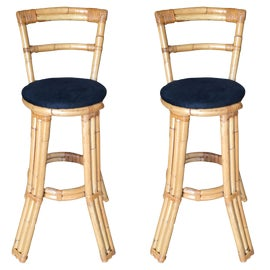 Image of Bamboo Bar Stools