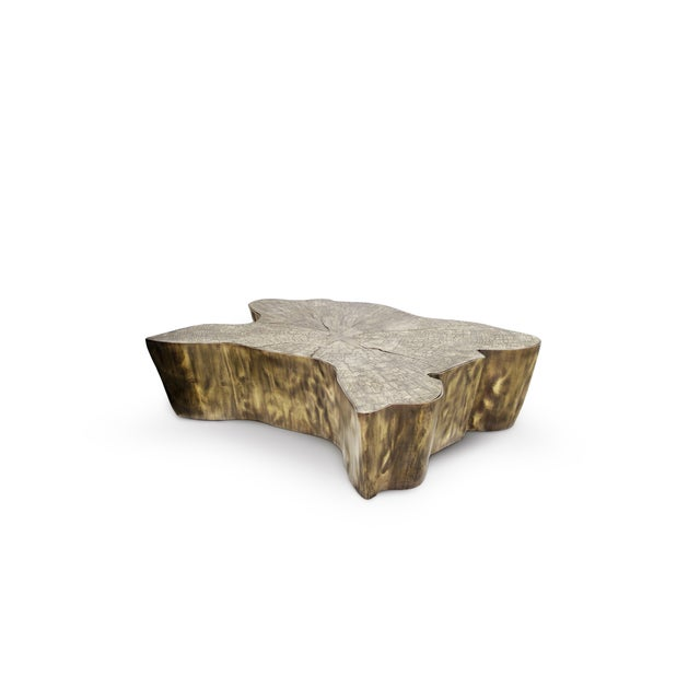 Mid-Century Modern Eden Patina Center Table From Covet Paris For Sale - Image 3 of 7