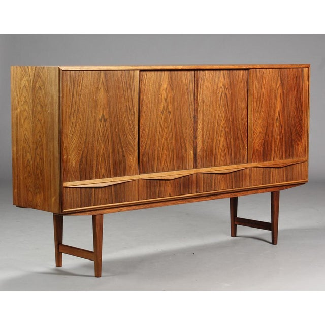 1950s Danish Modern Ew Bach for Sejling Skabe Rosewood Sideboard For Sale - Image 11 of 11