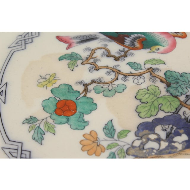19th Century Ironstone Platter For Sale In Los Angeles - Image 6 of 12