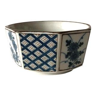 Japanese Indigo Ceramic Bowl