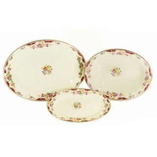 Vintage Knowles Serving Pieces - Set of 3 For Sale