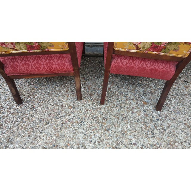 Vintage Eastlake Armchairs - A Pair - Image 4 of 11