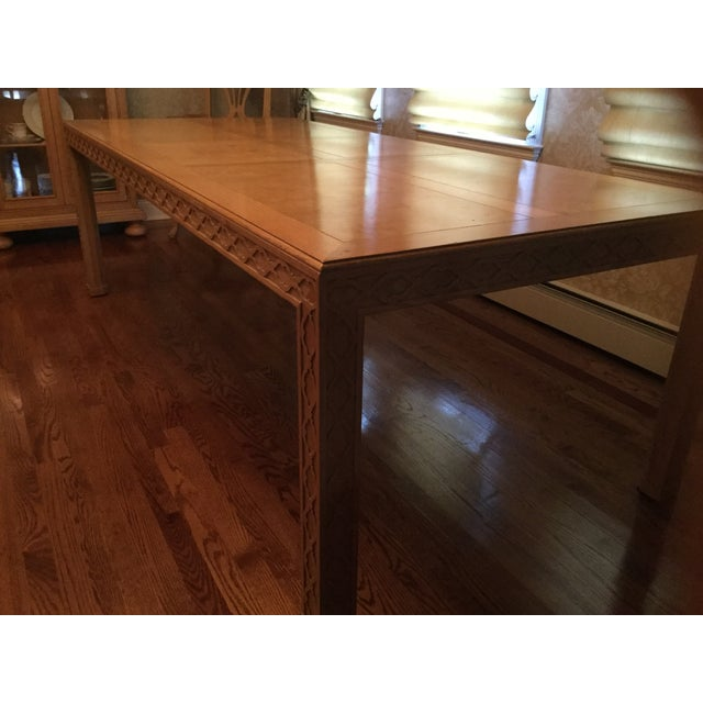 Contemporary Henredon Dining Table For Sale - Image 3 of 7