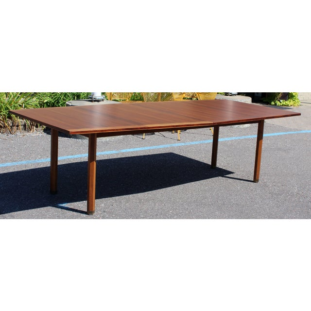 Mid-Century Modern Dunbar Expandable Dining Table For Sale - Image 10 of 10