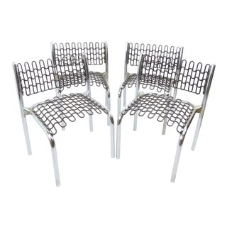 David Rowland for Thonet Patented Softec Chair & Soflex Mesh Children's Chairs - Set of 4 For Sale