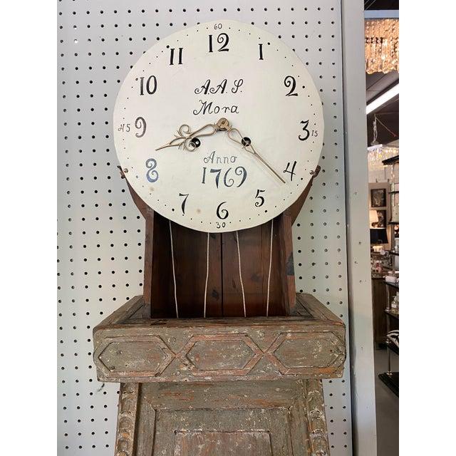18th. C. Swedish Gustavian Mora Clock For Sale - Image 10 of 13