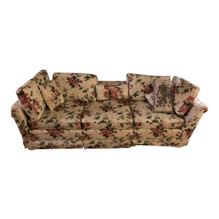 1970s Vintage Ethan Allen From the Traditional Classics Line Sofa For Sale