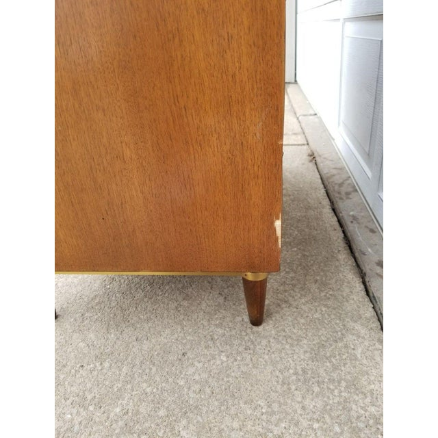 Vintage Merton Gershun for American of Martinsville Mid-Century Modern Chest of Drawers For Sale - Image 10 of 11