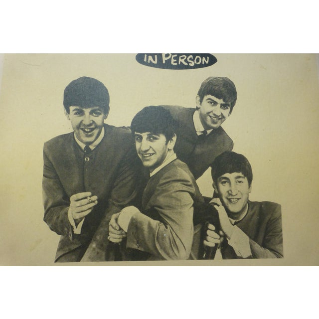 Reproduction Beatles Lobby Card Poster - Image 4 of 7