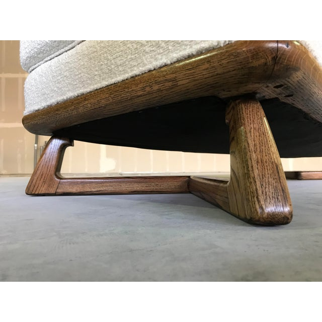20th Century Mid Century Modern Paul Laszlo for Brown Saltman Sculptural Chaise For Sale - Image 9 of 13