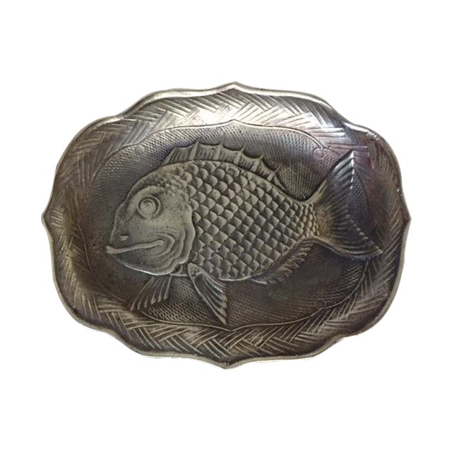 Brass Fish Tray - Image 1 of 6