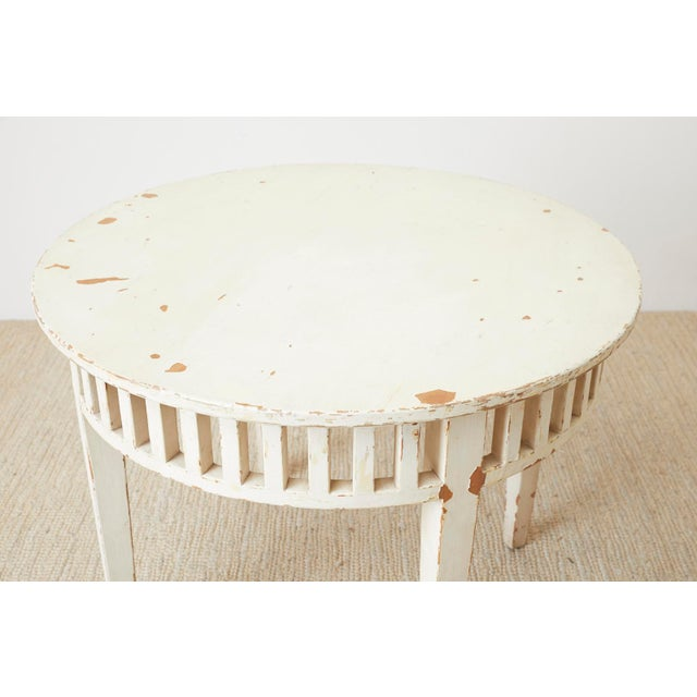 Pair of Richard Mulligan Distressed Centre or Side Tables For Sale - Image 4 of 13