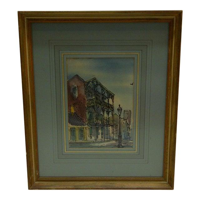 """Circa 1950 J. Donnels """"Saba Apartments"""