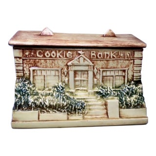1970s Figurative McCoy Bank Cookie Jar For Sale