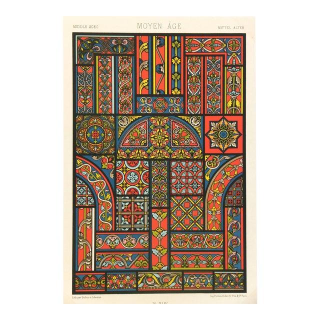 Interior Designs Lithograph For Sale