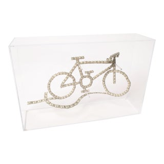 Money Bike Sculpture by Mariano Costa Peuser For Sale