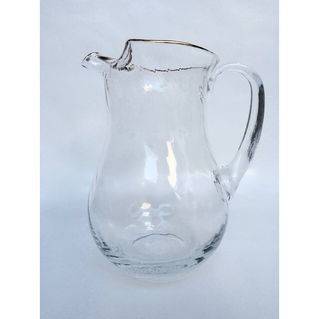 Vintage Colony Optic Pitcher - Image 3 of 4