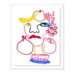 Tuttie Fruittie by Annie Naranian in White Frame, Small Art Print