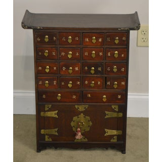 Asian Style Vintage Multidrawer Apothecary Chest Preview