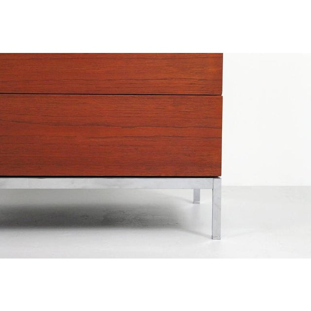 Pair of Teak Dressers by Florence Knoll For Sale In Boston - Image 6 of 11