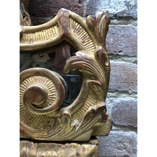 Gold Magnificent Régence Mirror For Sale - Image 8 of 13