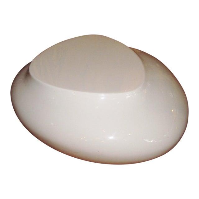 Contemporary White Fiberglass Cedric Ragot for Roche Bobois Cute Cut Xxs Cocktail Table For Sale