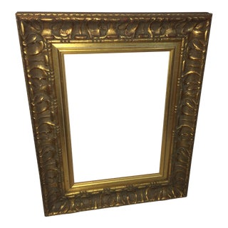Wood & Gesso Gold Frame