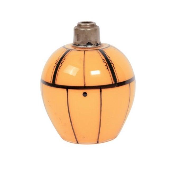 Czech Art Deco Tangerine Perfume Bottle - Image 1 of 3