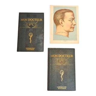"""""""Mon Docteur"""" 1901 Anatomy Books"""