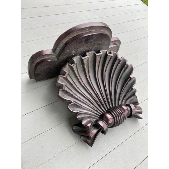 Beautiful and elegant decorative wall bracket that can be used to display an object such as a vase or plate or also very...
